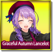 Graceful Autumn Lancelot