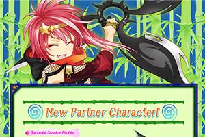 New Partner Character! Sarutobi Sasuke